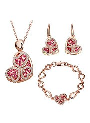 Jewelry Set With Swarovski Elements